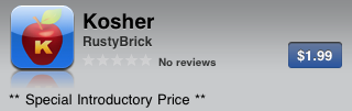 Kosher App Live