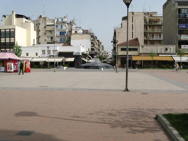 Karditsa central square