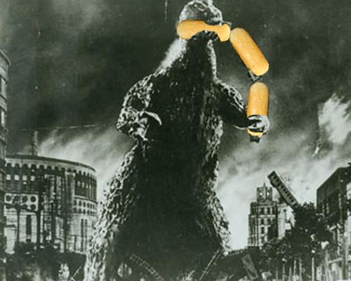 #33: Godzilla kills twinkie