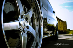 Mercedes CLS 55 on 360 Forged Straight 5ive (360 Forged) Tags: sky