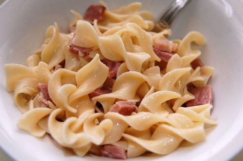 Ham And Buttered Noodles