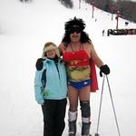 Judy & friend at Big Powderhorn Mountain
