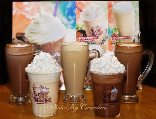 CoffeeBean December Drinks