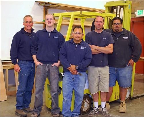Custom Design Woodworks Team