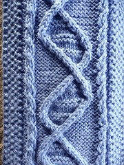 DNA scarf - close up