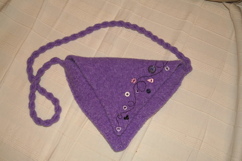 Sweetheart Bag in Lavendar