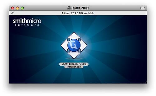 Stuffit Expander installer