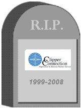 Boston Maine (Pan Am Clipper Connection) Tombstone