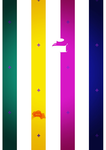 Colour perception Ink poster design
