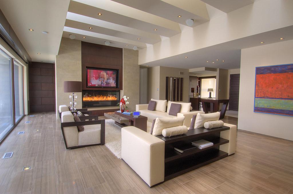 Great Room- AV system active