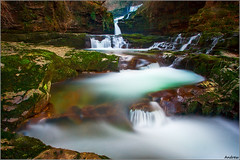 Dreamy Cascades (andrewwdavies) Tags: longexposure winter cold water river geotagged milk nationalpark breconbeacons waterfalls cascades below icy meet wfc powys pontneddfechan circularpolariser canonefs1022mmf3545usm afon rhaeadr earlybird ystradfellte brycheiniog neutraldensity canonef24105mmf4lisusm mellte sgwdisafclungwyn clungwyn welshflickrcymru waterfallswalk canoneos40d neathandporttalbot andrewwilliamdavies bannaubrecheiniog bwnd106 pontmelinfach geo:lat=51783706 geo:lon=3561877