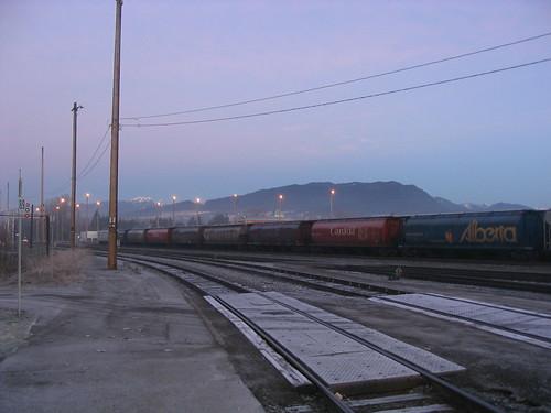 PoCo Station, morning