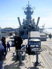 At the Battleship New Jersey
