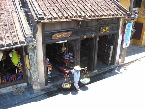 Calle en Hoi An