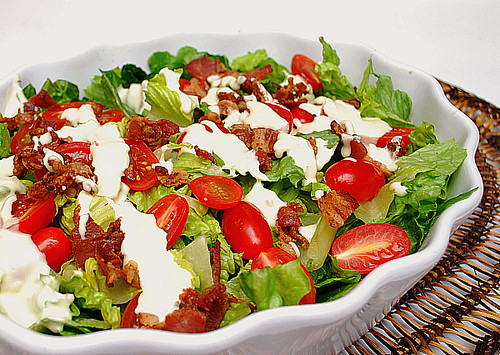 What's Cookin, Chicago: BLT Salad with Creamy Parmesan ...