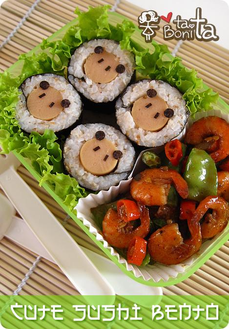 Cute Sushi Bento 1