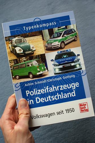 """Buch """"Polizeifahrzeuge in Deutschland"""""""