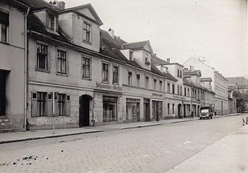 Jägerstraße, Potsdam, Germany. 1930s or 1940s.