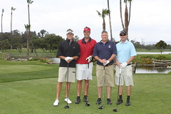 Rick Mirer, Jeff Diltz, Mike Conger, and Todd Hansen