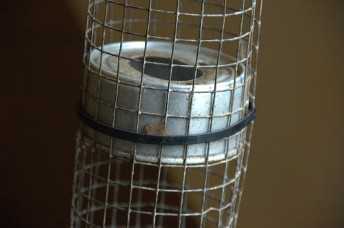 Detail, Convection Composting Aeration Tube
