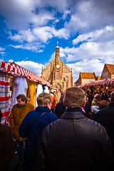 Easter Market crowd