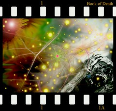 Book of Death (Eddi van W.) Tags: creativity energy digitalart gimp tibet creativecommons ritual karma spirituality spiritual scull deepness nna kreativitt spiritualitt eddi07 bookofdeath oldstorieshavetogo nnart notniceart