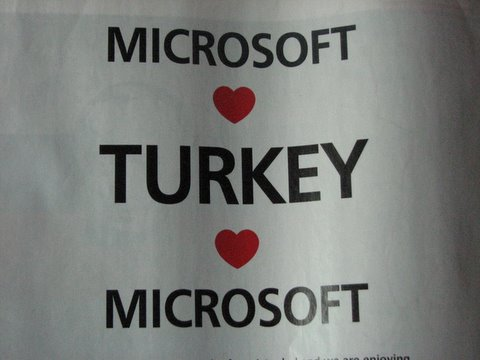 microsoft turkey time mag 7 jan 08