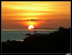 Sunset at Key West (Florida)