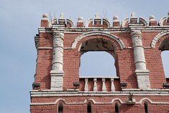 Don monastery. Wall tower. Detail (akk_rus) Tags: city cityscape russia moscow cityscapes moskau moscou москва россия
