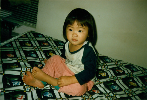Me, 2 years old?