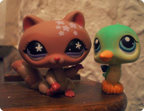 petunia and humphrey by Kaarin.