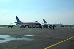 Sriwijaya VS Merpati @ TGK Air Port Lampung