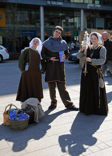 Promoting the medieval exhibition