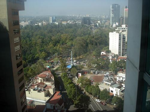 W Hotel Room View - México City