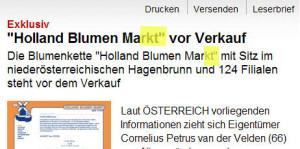Markt statt Mark