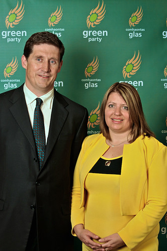 Eamon Ryan and Donna Cooney