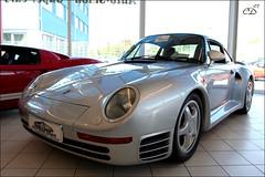 Porsche 959 (Chris Droesch) Tags: auto canon eos 350d porsche salon 2007 959 singen