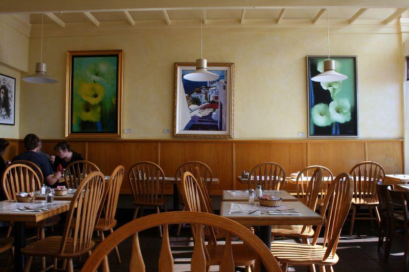 Inside Bridgeway Cafe