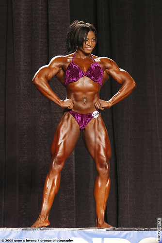 Monique Hayes At 2008 NPC Jr. Nationals