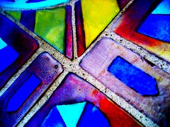 north beach abstract (msdonnalee) Tags: abstract mosaic  fliese walkways mosaique abstrakt baldosa abstrait underfoot colorphotoaward  donnacleveland photosbydonnacleveland