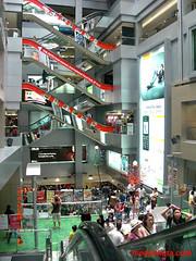 Bangkok MBK shopping mall