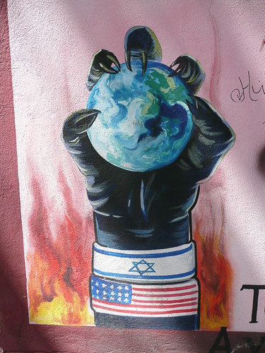 Tehran Mural por Matthew Winterburn.