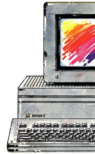 Illustrazione Mac II