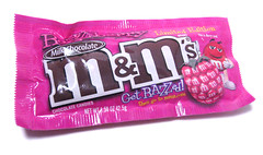 M&Ms Razzberry Package