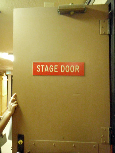 17 - Community Keynote - stage door