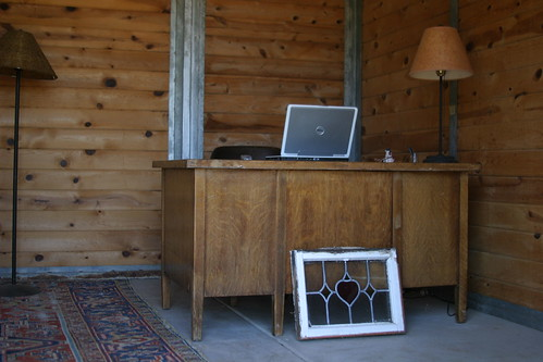 my office at the barn