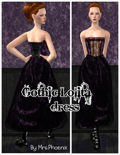 Gothic Dress by Martina Cullen.