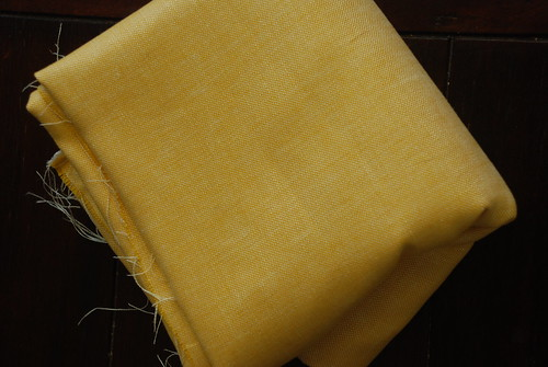Golden Yellow Linen from Belgium by you.