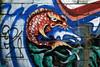 Koi mural (Rachael Ashe) Tags: streetart vancouver graffiti photowalk granvillestreet alleys