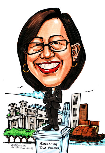 Caricature for Ministry of Finance